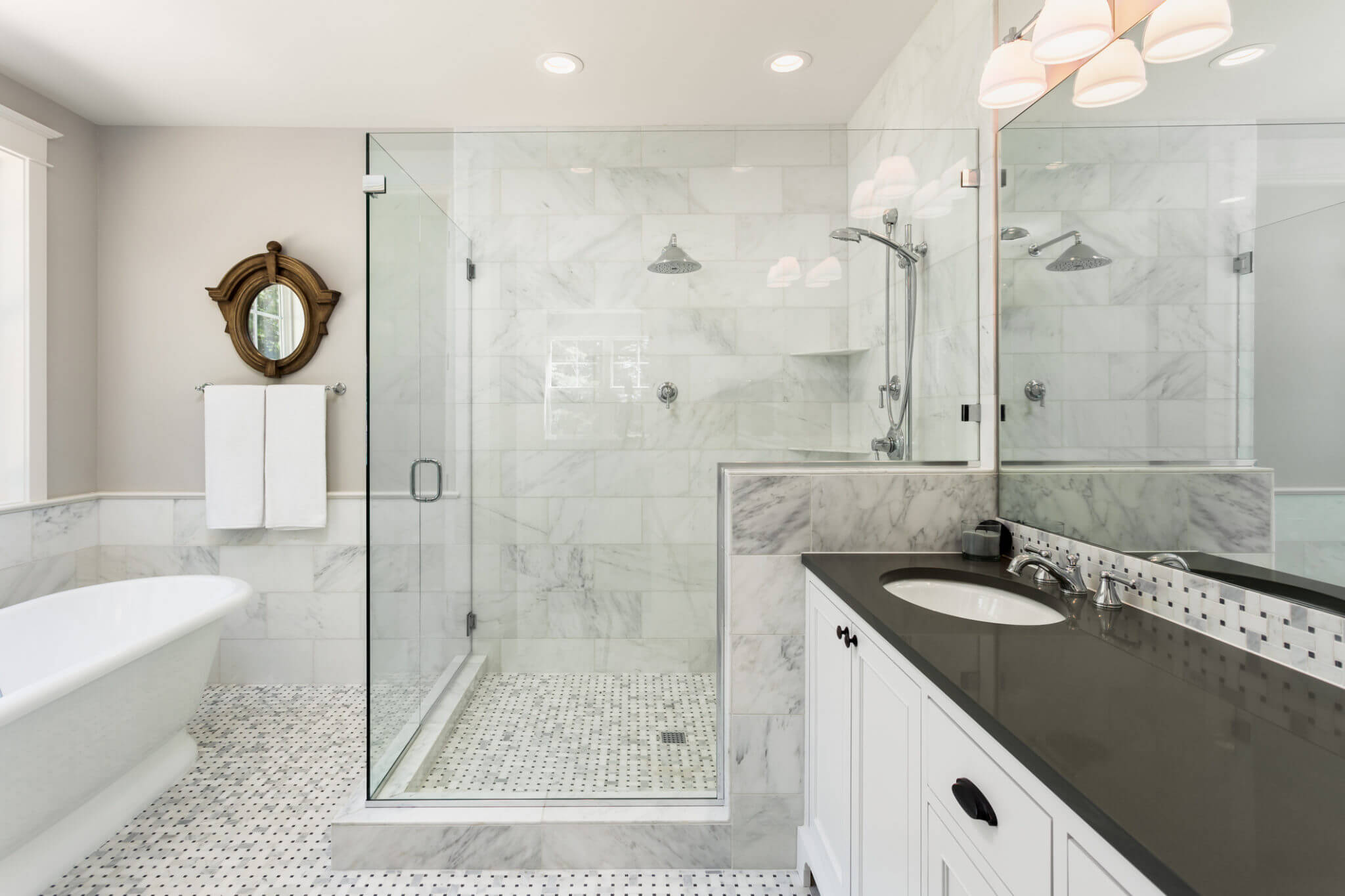 Image of: 17 Inspiring Before And After Bathroom Renovations Why Tile