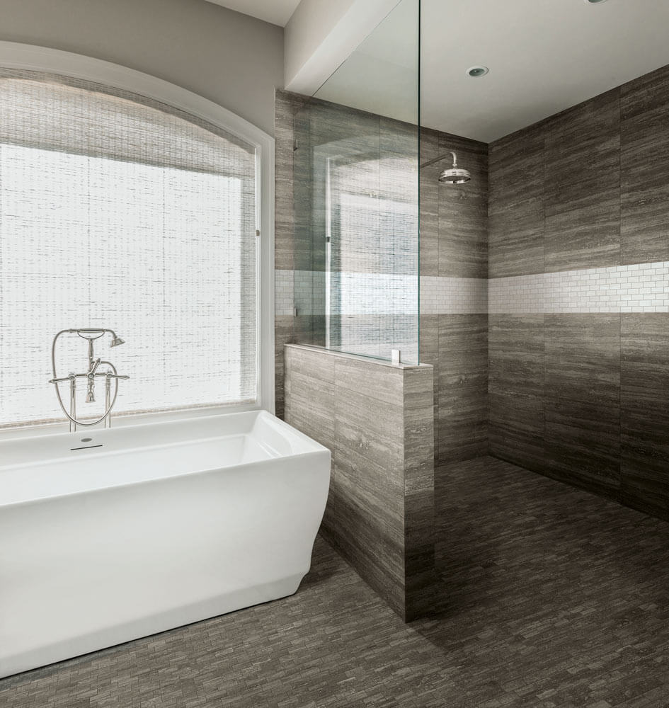 Luxury Bathroom With Ceramic Tile Why Tile