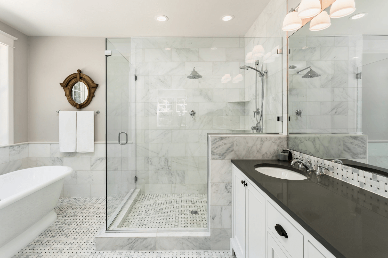 Not Using Tiles Bathroom Ideas: 40 Free Shower Tile Ideas (Tips For Choosing Tile)